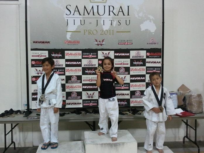 Aalijah pineda Febricio Werdum Samurai Jiu Jitsu Pro