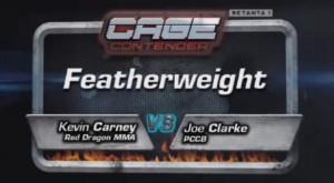 Joe Clarke vs. Kevin Carney
