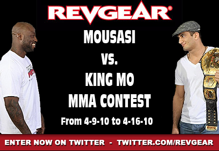 mma contest on twitter