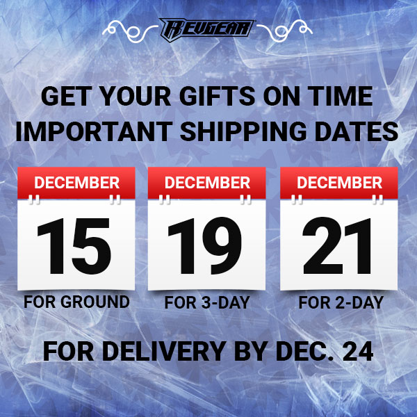 Holiday Shipping Cut Off
