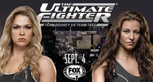 ultimate fighter ronda rousey miesha